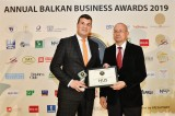 "Hus Ltd with special prize for ""Prosperous Business and Economic Growth"" from the Balkan Business Awards 2019"